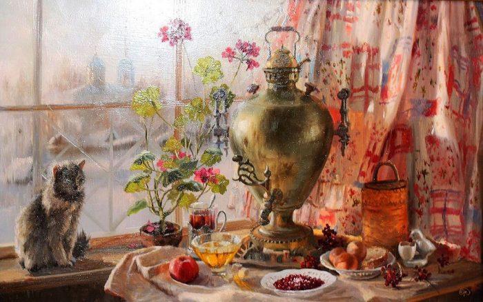зима Владимир Жданов - 03
