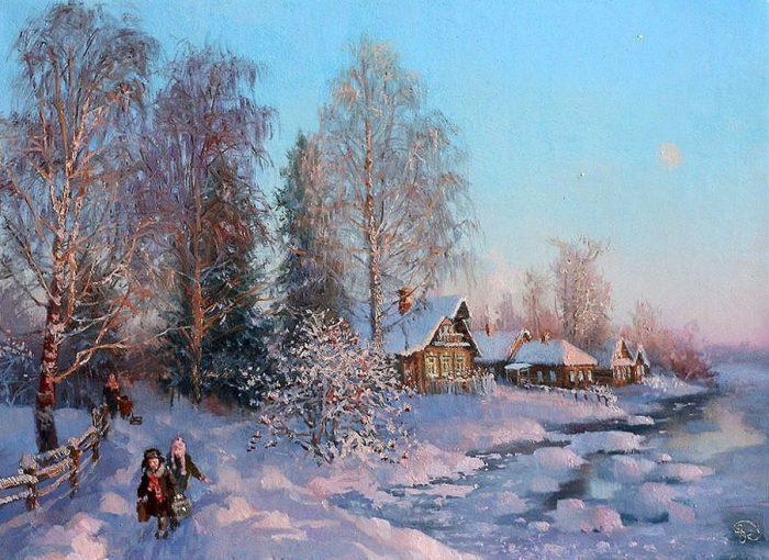 зима Владимир Жданов - 04