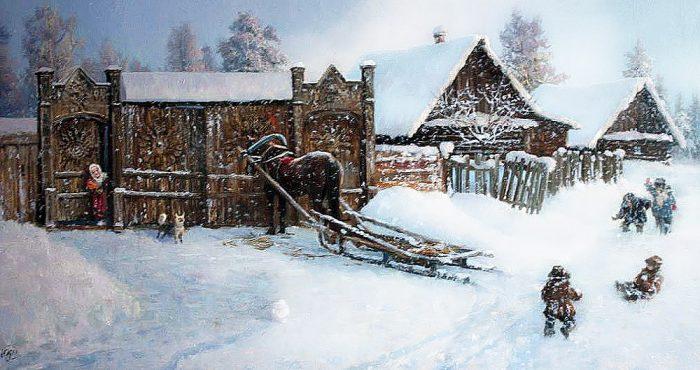 зима Владимир Жданов - 06