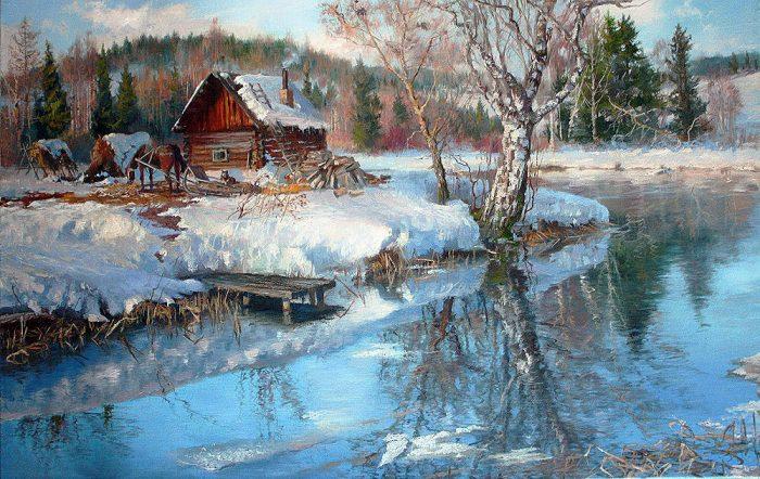 зима Владимир Жданов - 07