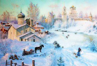 зима Владимир Жданов - 08