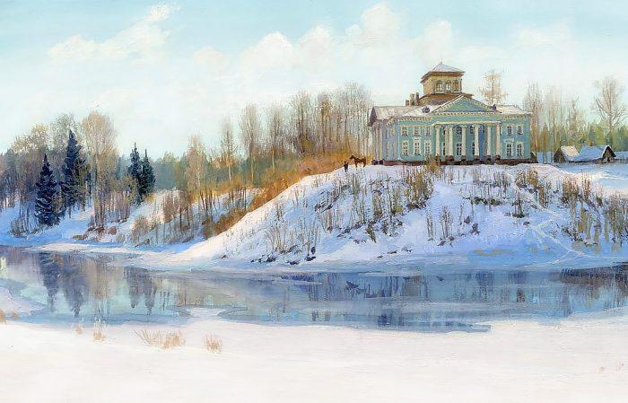 зима Владимир Жданов - 10