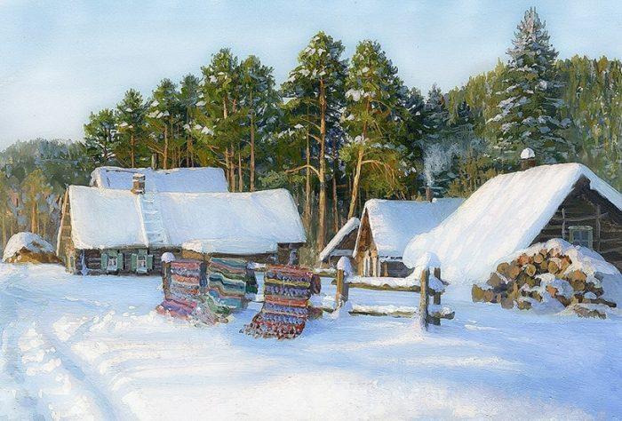 зима Владимир Жданов - 13