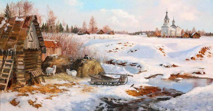зима Владимир Жданов - 14