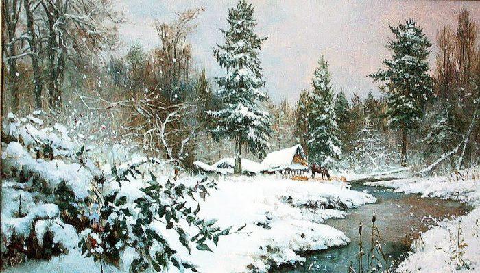 зима Владимир Жданов - 15