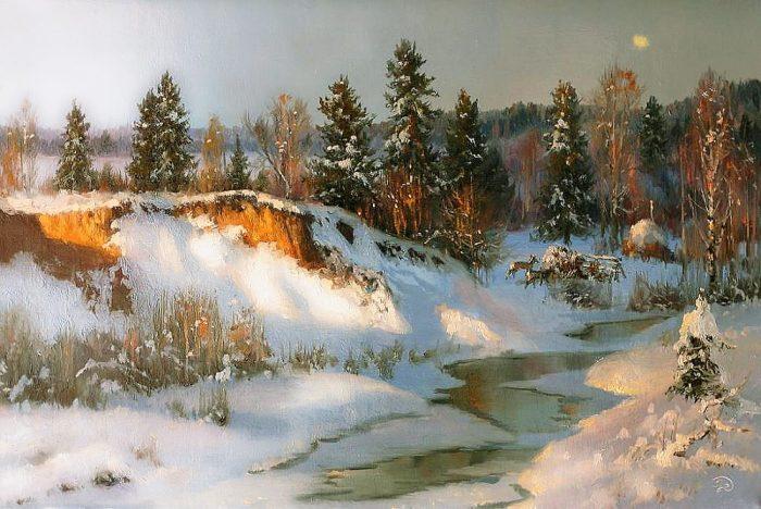 зима Владимир Жданов - 16