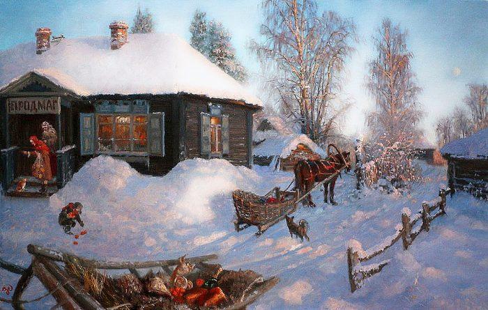 зима Владимир Жданов - 17