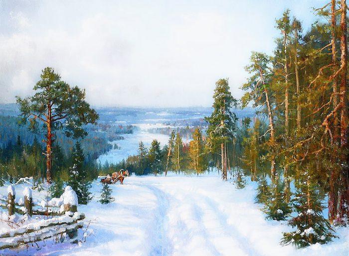 зима Владимир Жданов - 18