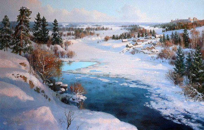 зима Владимир Жданов - 19