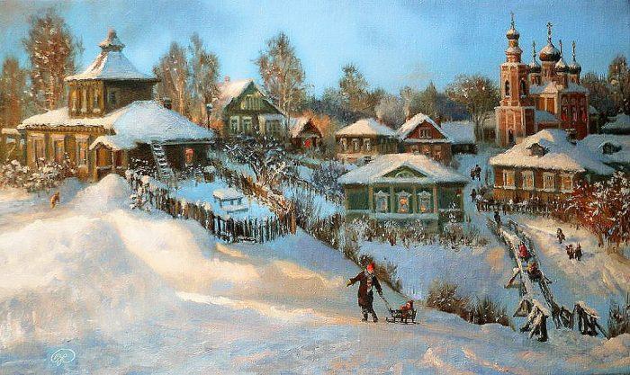 зима Владимир Жданов - 20