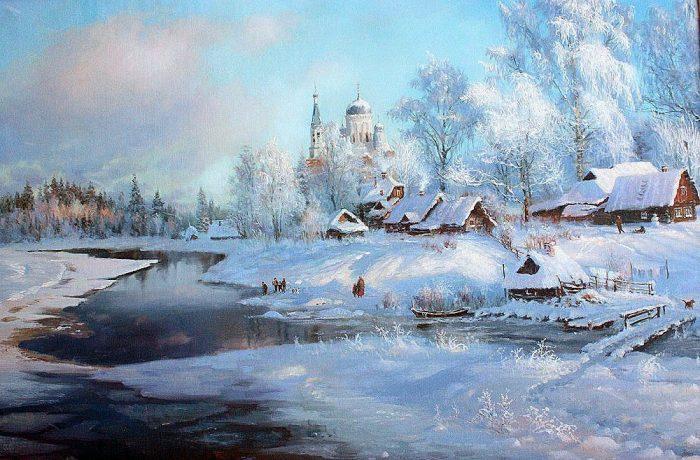 зима Владимир Жданов - 21