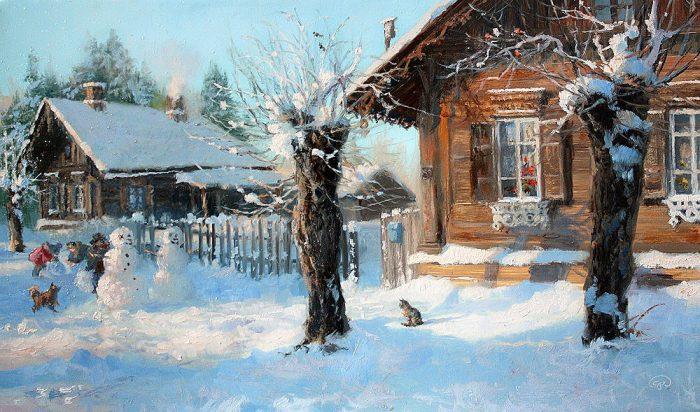 зима Владимир Жданов - 22