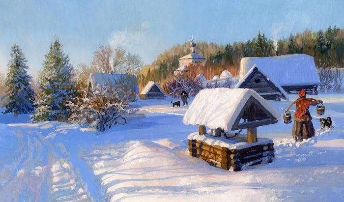 зима Владимир Жданов - 23