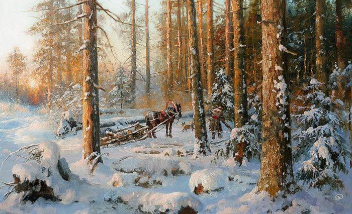зима Владимир Жданов - 24