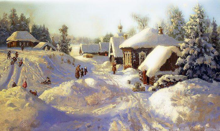 зима Владимир Жданов - 25
