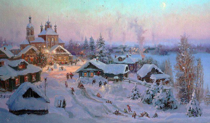 зима Владимир Жданов - 26