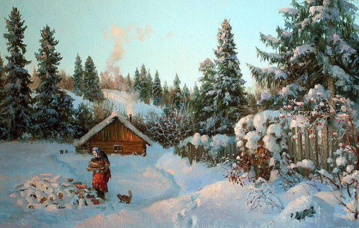 зима Владимир Жданов - 27