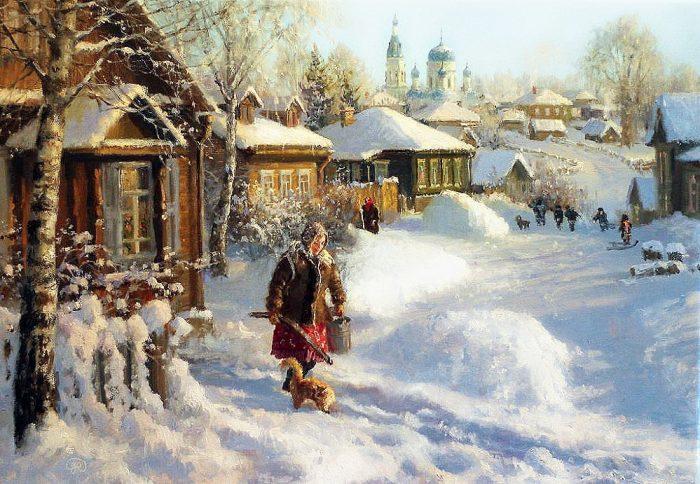 зима Владимир Жданов - 28