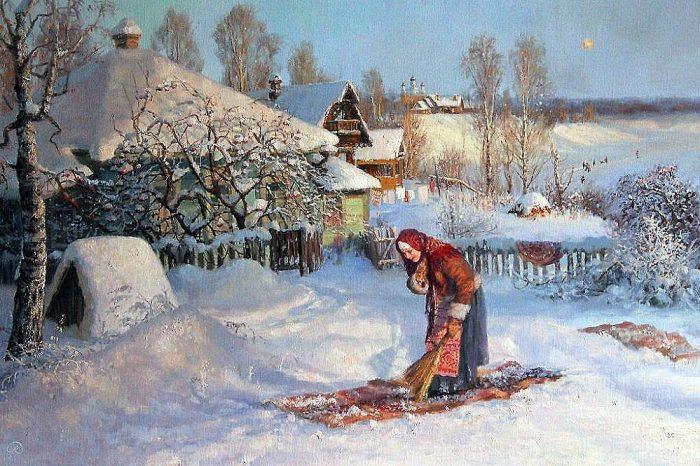 зима Владимир Жданов - 29