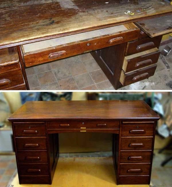 Как обновить старую мебель с помощью лака
