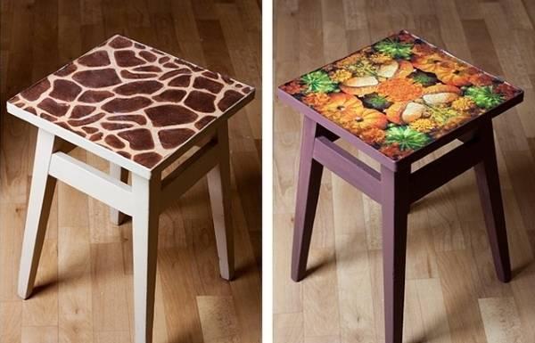 Как обновить старые стулья