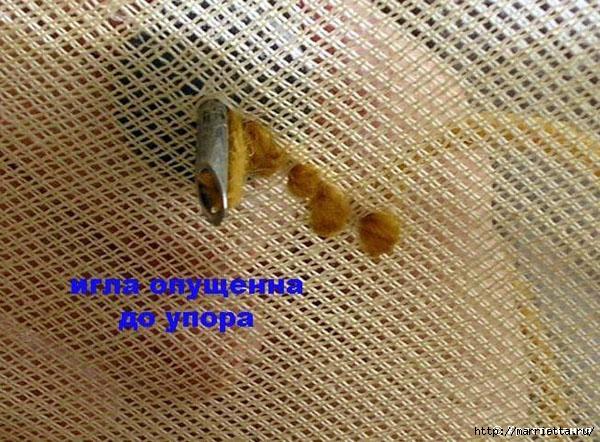 Вышивка ковровой техникой с помощью специальной иглы (13) (600x442, 253Kb)