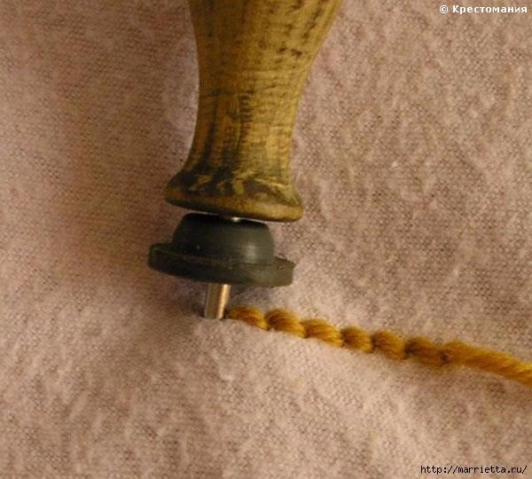 Вышивка ковровой техникой с помощью специальной иглы (9) (600x540, 169Kb)