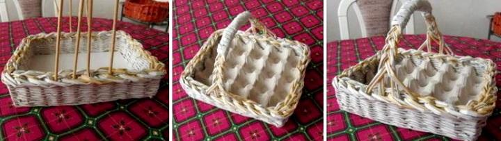 корзинка-лоток для яиц