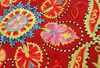 узбекская вышивка
