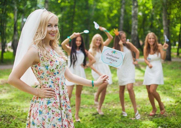 Аксессуары для фотосессии на девичнике