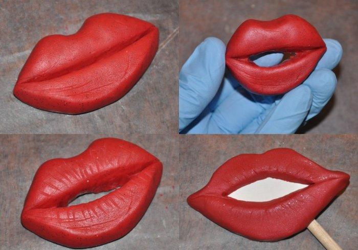 Создайте губы