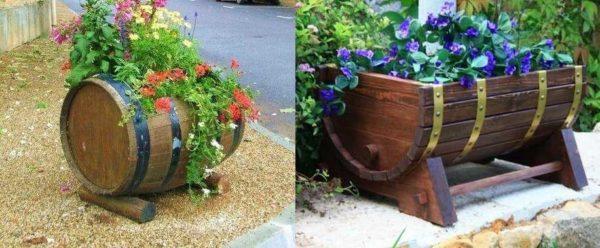 Как сделать уличные вазоны для цветов