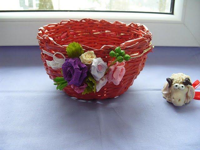 pletenye-korzinki2 Плетеные корзинки из различных материалов своими руками