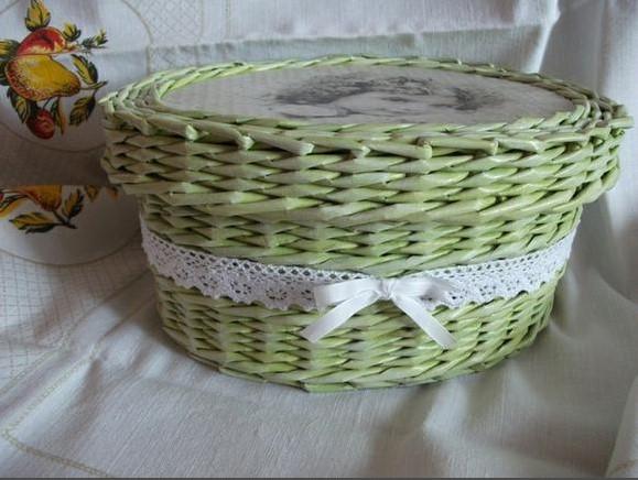 pletenye-korzinki4 Плетеные корзинки из различных материалов своими руками