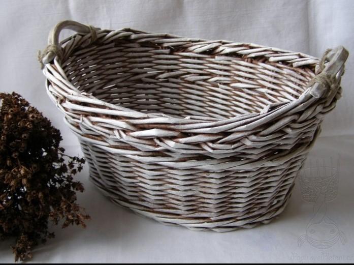 pletenye-korzinki5 Плетеные корзинки из различных материалов своими руками