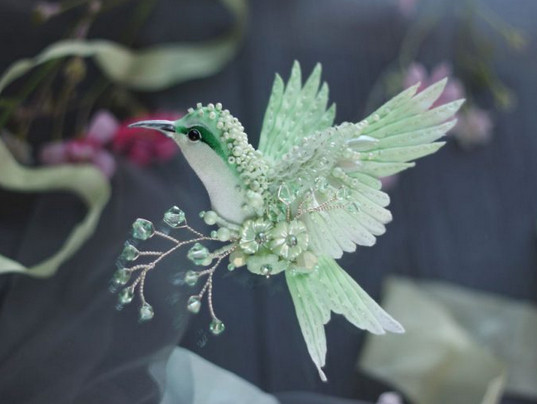 Райские птицы Юлии Гориной никого не оставят равнодушными. Потрясающая красота!