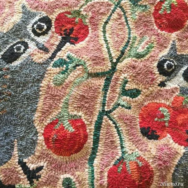 Идеи для вышивки в ковровой технике