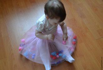 Шьем детскую юбочку с сюрпризом. Легко и сказочно красиво!