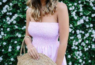 Шьём летнее платье безвыкройки: простой мастер-класс