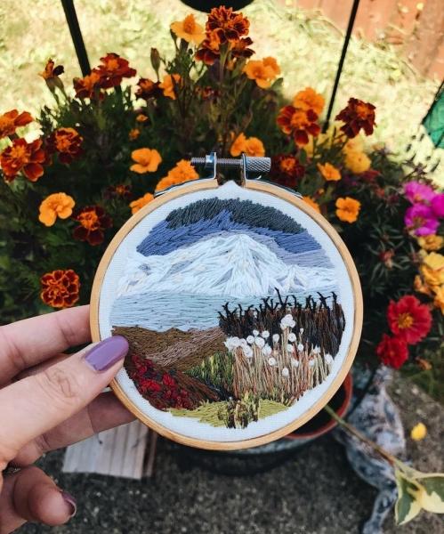 Цветущий мир вышивки от Northwise