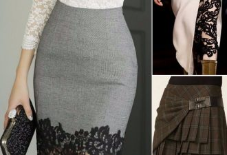 Интересные детали юбок...