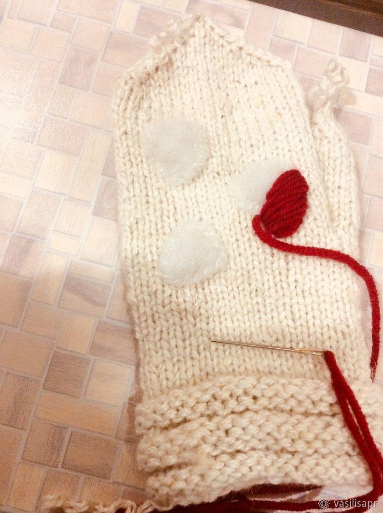 варежки вышивка