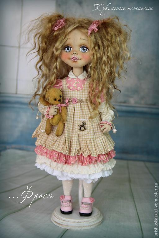 Коллекционные куклы ручной работы. Ярмарка МаÑтеров - Ñ€ÑƒÑ‡Ð½Ð°Ñ Ñ€Ð°Ð±Ð¾Ñ'а. Купить ФроÑÑ . Кукла авторÑÐºÐ°Ñ Ñ'екÑÑ'Ð¸Ð»ÑŒÐ½Ð°Ñ . Кукла ручной работы . Handmade.