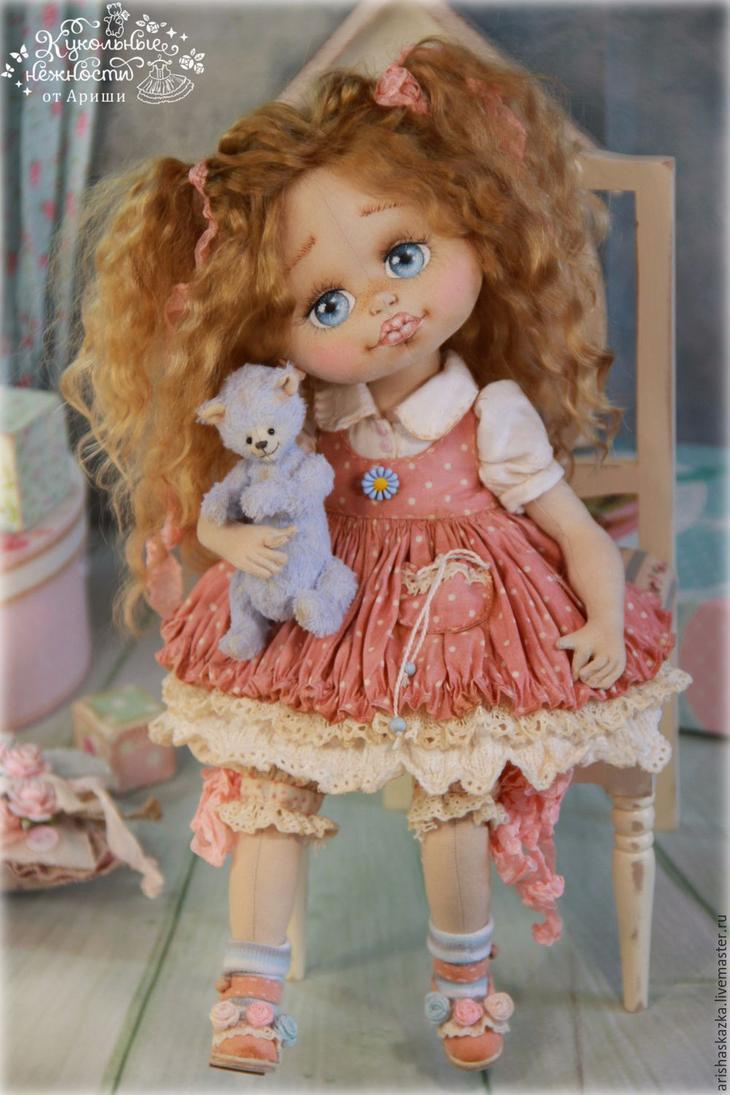 Коллекционные куклы ручной работы. Ярмарка МаÑтеров - Ñ€ÑƒÑ‡Ð½Ð°Ñ Ñ€Ð°Ð±Ð¾Ñ'а. Купить Лада . Кукла авторÑÐºÐ°Ñ Ñ'екÑÑ'Ð¸Ð»ÑŒÐ½Ð°Ñ art doll. Handmade.