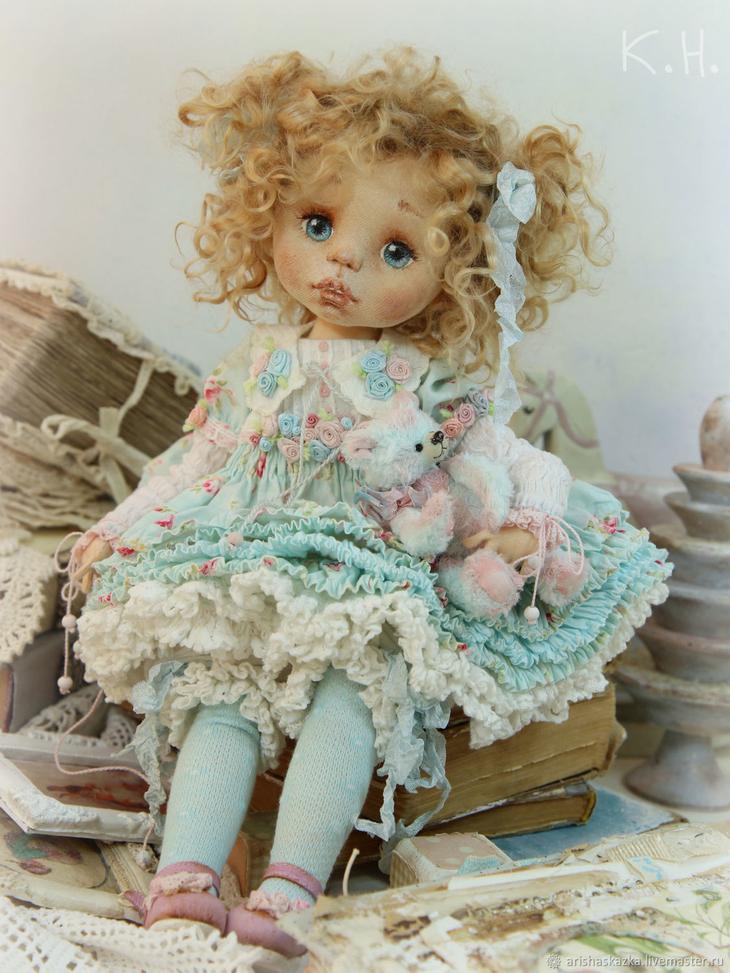 Коллекционные куклы ручной работы. Глаша . Кукла текÑтильнаÑ. Кукольные нежноÑти от Ðриши. Ðнтернет-магаÐин Ярмарка МаÑтеров. ÐšÐ¾Ð»Ð»ÐµÐºÑ†Ð¸Ð¾Ð½Ð½Ð°Ñ ÐºÑƒÐºÐ»Ð°