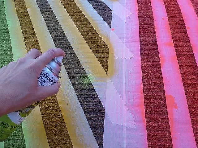 Как покрасить ковёр (и зачем это делать): мастер-классы + идеи