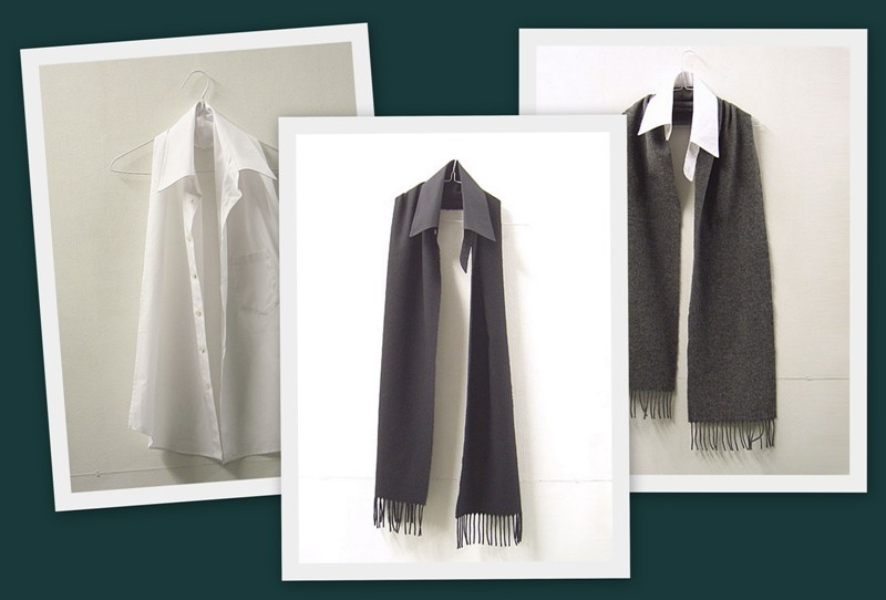 шарфы с воротничками