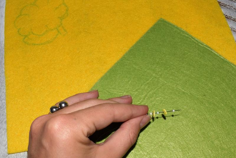 Как сделать брошь избисера ипайеток своими руками