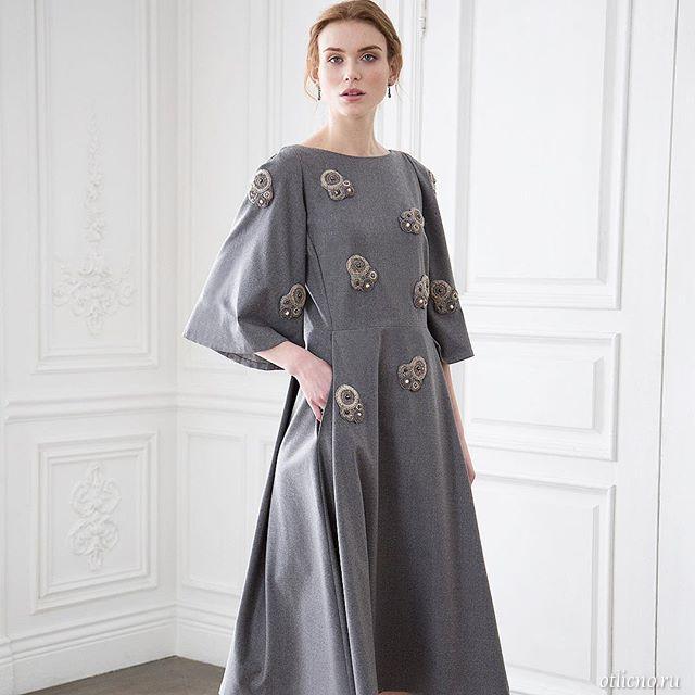 Роскошные украшения - вышитая одежда от Светланы Левадной