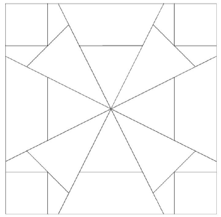 Схема узора для квилта